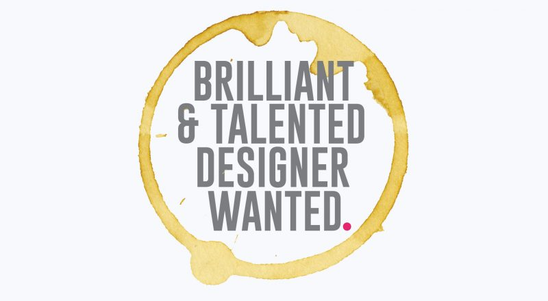 Jump Agency Designer Wanted
