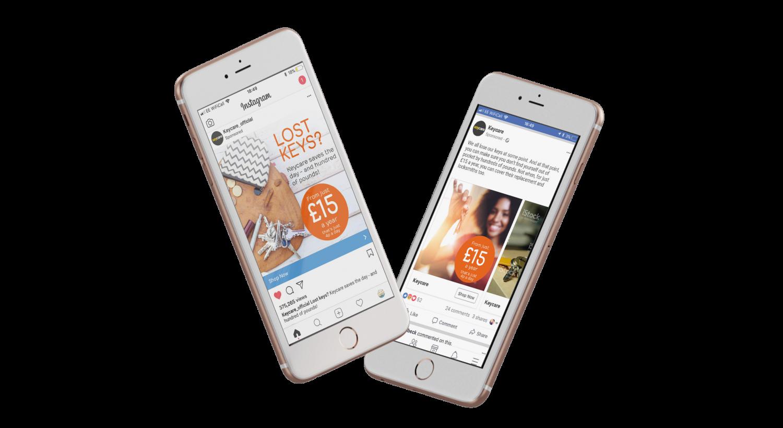 Keycare website on mobile phones